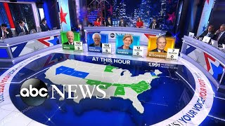 Gambar cover The latest projections for the Democratic primary l ABC News
