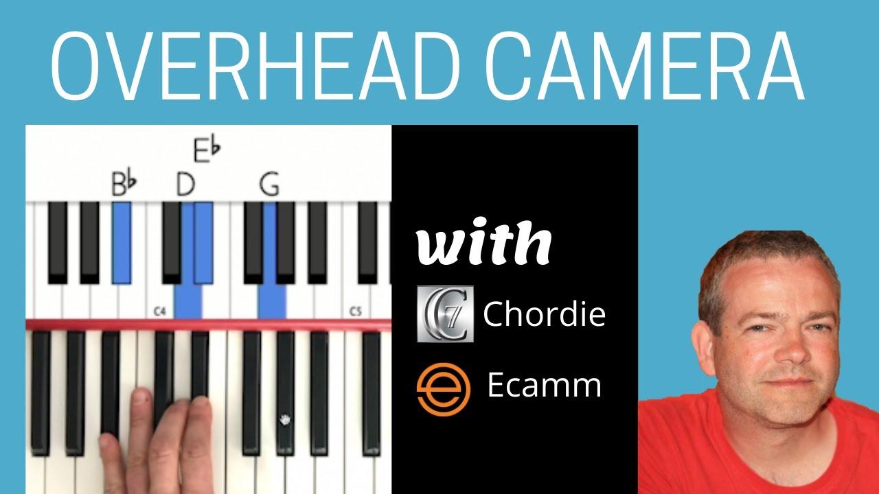 Piano overhead camera in Ecamm