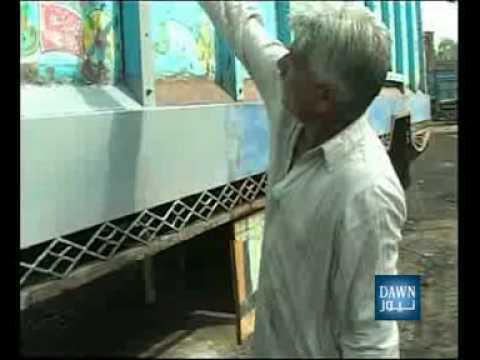 NEWS PACKAGE - TRUCK ART IN PAKISTAN