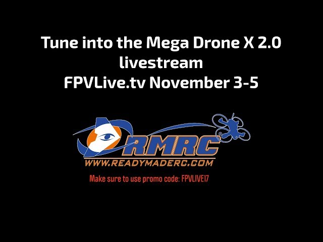 FPV Drone Racing at The TBS Mega Drone X Long Promo