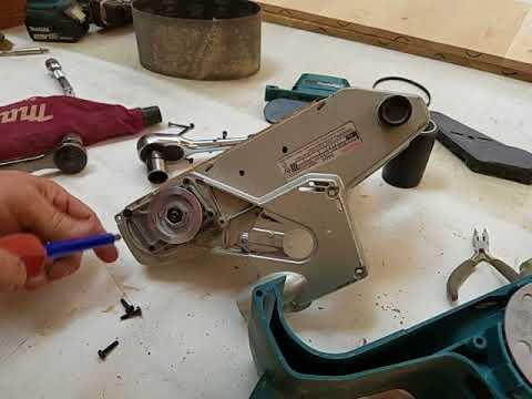 Makita Belt Sander Model 9404 Break Down #2