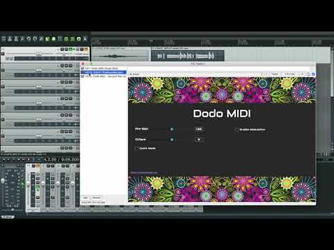 Dodo MIDI - Using Quick Mode for fast passages