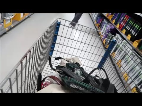 VLOG: SHOP WITH ME GROCERY + DAY CLEANING SUPPLIES