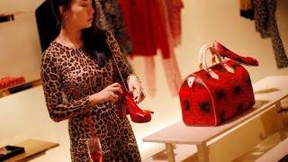 Hong Kong jest miastem z pięknymi kobietami, elegancja, urok, bogactwo