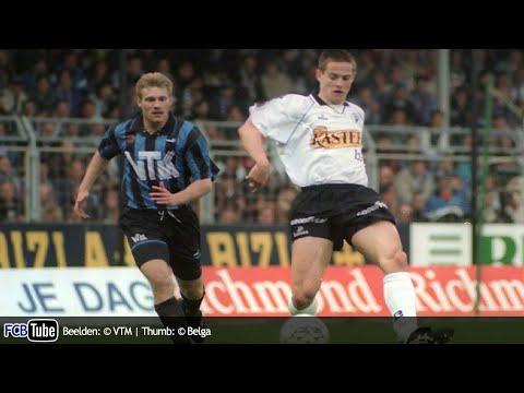 1994-1995 - Beker Van België - 05. Halve Finale - Club Brugge - Eendracht Aalst 3-0