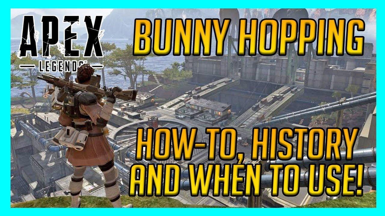 how to bunny hop in apex legends