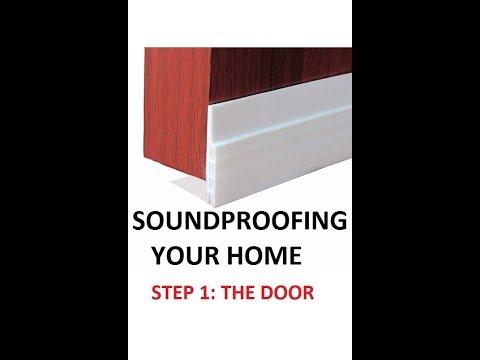 How To Soundproof Your Door Or Apartment. Under Door Draft Stopper And Blocker Prevent Bugs