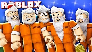 IL PALS GROW OLD e DIE IN PRISON!? (Roblox Jailbreak)