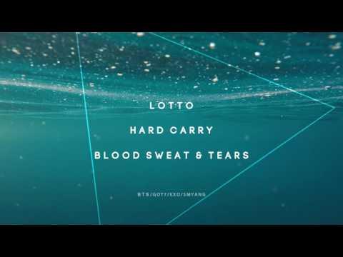 BTS x EXO x GOT7 - Blood Sweat & Tears/Hard Carry/Lotto - Piano Mashup