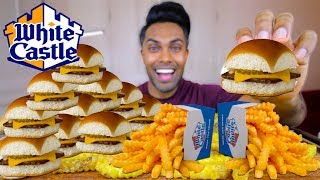WHITE CASTLE SLIDERS | MUKBANG