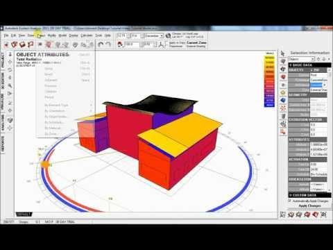 Autodesk Ecotect Analysis Tutorial - Beginners