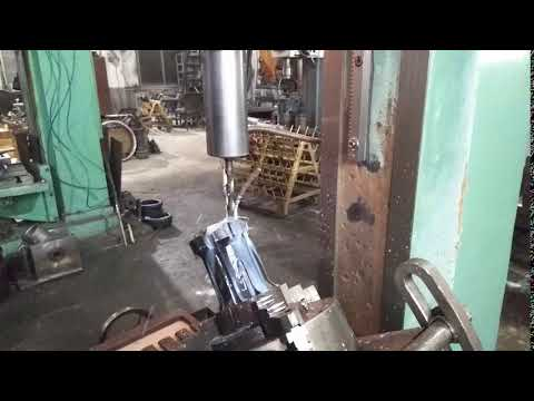Drilling holes for tungsten carbide buttons, thread drill bits