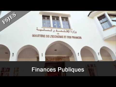 Finances publiques s4 - seance 3 partie 1