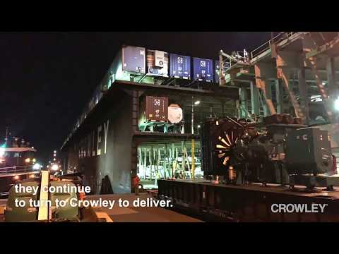 Crowley's Big-Time Expertise on Heavy Load Moves Between the US and Puerto Rico