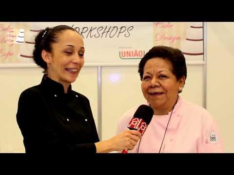 Nhora de La Pava fala sobre a técnica de porcelana em açúcar - www.mariareceita.com.br