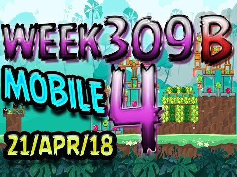 Angry Birds Friends Tournament Level 4 Week 309-B PC Highscore POWER-UP walkthrough
