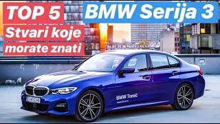 TOP 5 stvari koje morate znati - Nova BMW serija 3