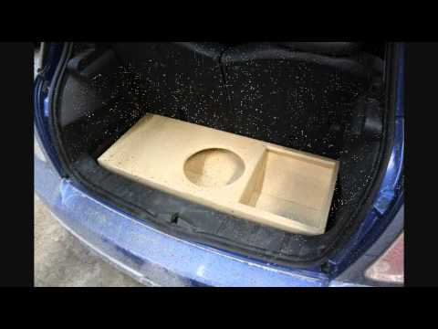 Mini Cooper Custom Speaker Box Youtube