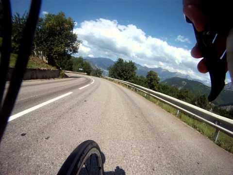 ESSA Cycling La Toussuire Descent 2013.