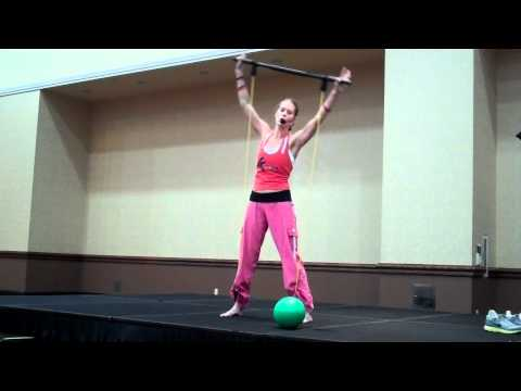 Janis Saffell & Power-Systems Rock Hard Yoga & Pilates Workout