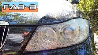 De la buée dans les phares de ma BMW E90 😒