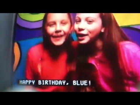 Blues Clues Happy Birthday Blue YouTube – Blues Clues Birthday Card