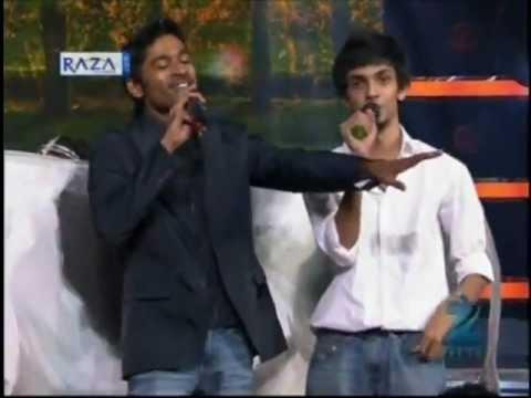 Dhanush Sings 'Why This Kolaveri Di' in ZeeTV Show 'Rock Star' - VitalStreets.com
