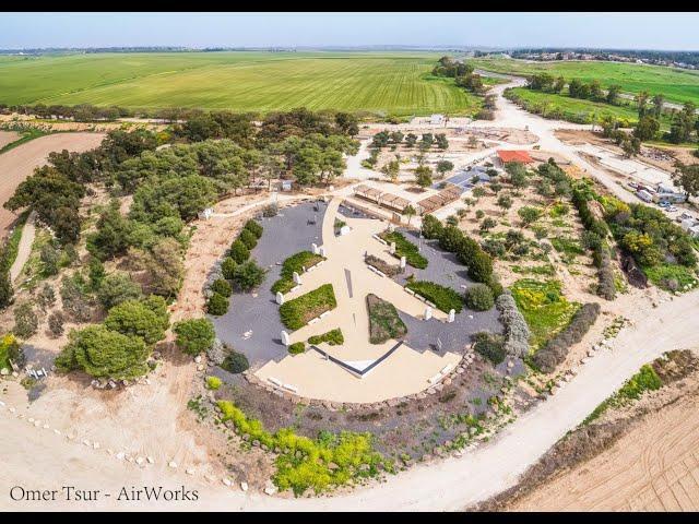 אנדרטת חץ שחור | Israel in 60 seconds | AirWorks 4K Aerial Photography | מורשת קרב הצנחנים