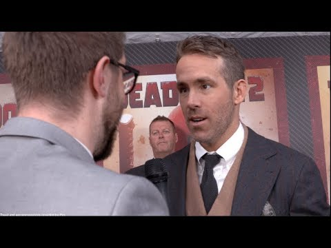 DEADPOOL 2 interviews - Ryan Reynolds, Zazie Beetz, Brolin, Leitch, Dennison, Reese, Wernick