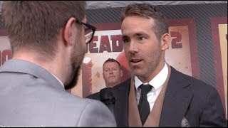 DEADPOOL 2 interviews - Ryan Reynolds, Zazie Beetz, Brolin, Leitch, Dennison, Reese, Wernick