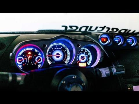 $69 Blue 350z Gauges, I Love Them!