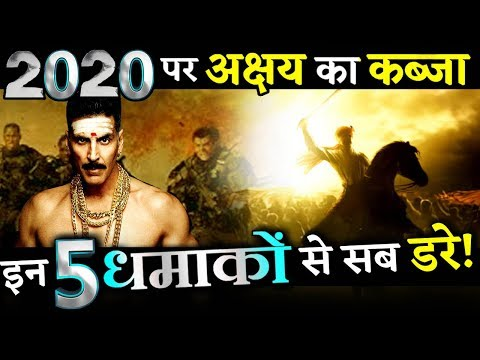 Akshay Kumar Is All Set With His 5 Big Films In 2020