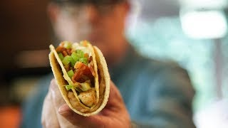 Double Wrapped Shrimp & Bacon Tacos | SAM THE COOKING GUY