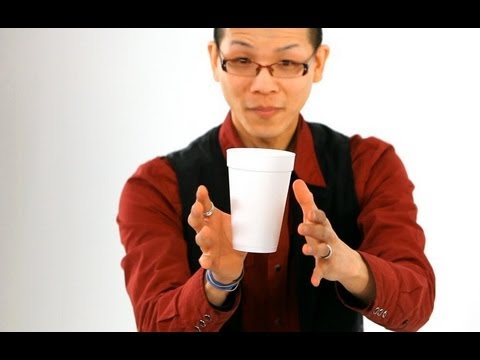 How to Do the Floating Coffee Cup Trick | Magic Tricks ...