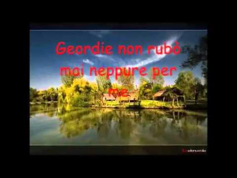 Karaoke GEORDIE F. De Andrè DUETTO con voce maschile per voce femminile