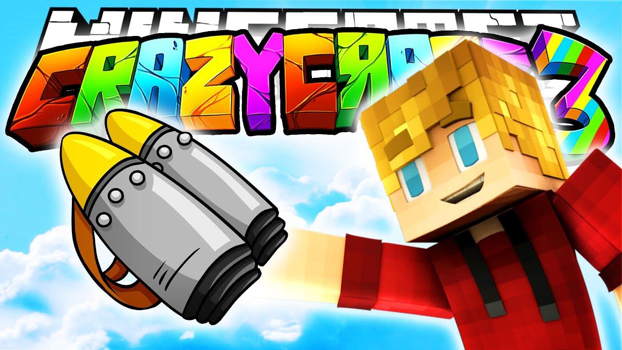 Minecraft crazy craft 3 0 jetpack mod 14 youtube