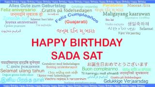 Sada Sat   Languages Idiomas - Happy Birthday