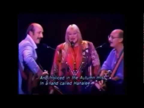 For Japan: Clips from Peter Paul and Mary's 90's Live in Japan Concert(Japanese subtitles)