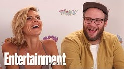 Seth Rogen: Future Man Is 'Comedy With Real Life-Or-Death Stakes' | SDCC 2017 | Entertainment Weekly