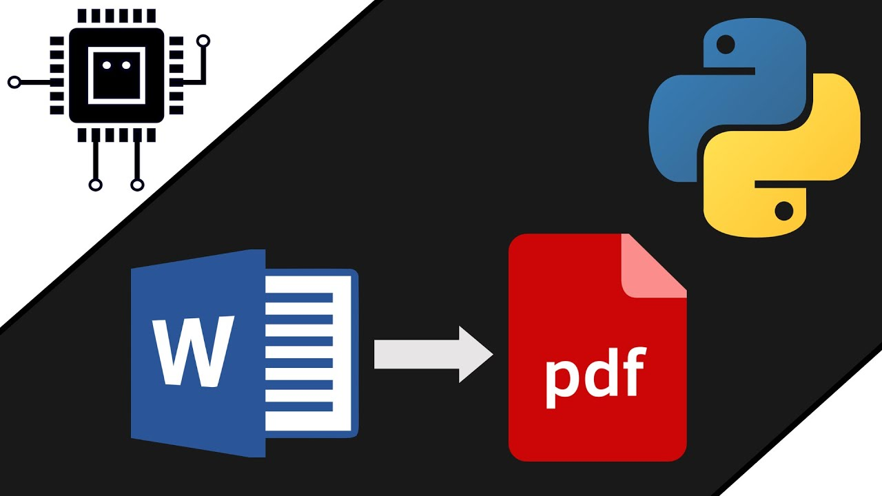 how to convert docx to pdf in python