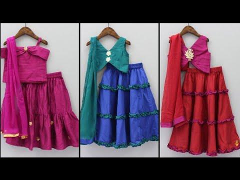Little kids Lehenga choli 2019:kids choli suits,kids fancy dress design