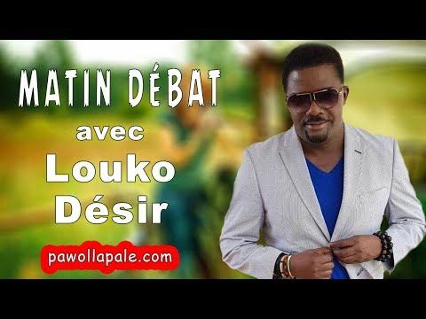 MATIN DÉBAT - Dosye Premye Minis : Louko Désir ap bay non an