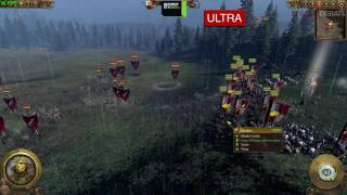 Total War: Warhammer PC Low vs Ultra Graphics Comparison Benchmark