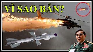Đánh nhau to, Phòng không Việt Nam b,ắn hạ trực thăng B-7115 của Trung Quốc, 5 binh sĩ ra đi