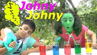 Johny Johny Yes Papa | Nursery Rhymes and Kids Songs with Guka and Maria