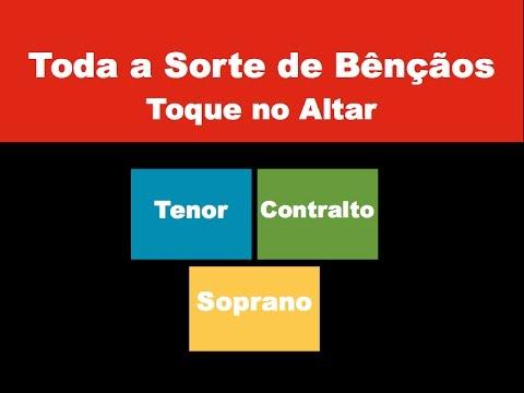 Divisão Vocal - Toda a Sorte de Bênção - (Toque no Altar) Tutorial