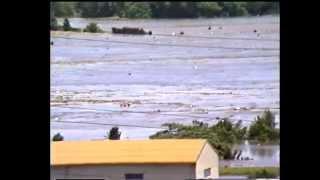 昭和61年(1986年)8月4日水戸市内の那珂川氾濫