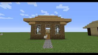 Как построить маленький дом в Minecraft(Как построить маленький дом в Minecraft 7x7 блоков Продолжать ли мне снимать видео?, 2015-03-04T09:44:41.000Z)
