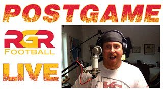 LIVE! PostGame Chiefs defeat 49ers 38-27 | RGR Football Stream | NFL Kansas City Chiefs