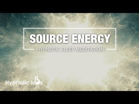 Guided Meditation For Connecting To Source Energy and Your Higher Self (Sleep Hypnosis)